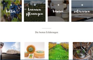 Neue Website mit Lebensmittel-Infos: Ist noch nicht gut gefüllt, kann aber noch werden.