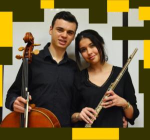 Patricia Castro und Cristóbal Jaubert: Die beiden Nachwuchstalente eröffnen die dritte Runde des Kammermusikreigens in den Alten Salinen in Los Cancajos.