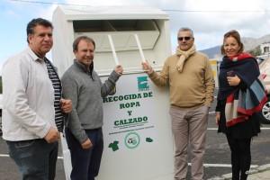 Container für gebrauchte Kleidung und Schuhe: jetzt auch in El Paso.