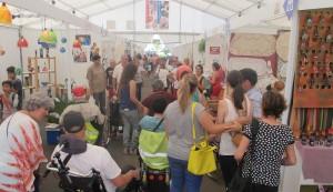Inselkunsthandwerker-Messe La Palma: Eldorado für alle, die das besondere Souvenir suchen. Foto: Cabildo