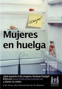 Der Streikaufruf gilt auch für Hausfrauen: Der Kühlschrank soll leer und die Küche kalt bleiben.