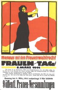 Frauentag 1914 forderte das Wahlrecht: 2017 gehen die Frauen immer noch