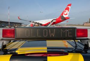 Flughäfen Berlin: Am heutigen Montag werden erneut viele Flieger wegen des Verdi-Streiks am Boden bleiben. Pressefoto Flughafen Berlin-Tegel.