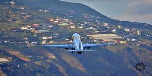 Primera Air: verbindet schon diesen Winter Santa Cruz de La Palma (SPC) mit Billund und Göteborg. Foto: Carlos Díaz La Palma Spotting