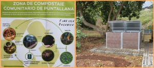 Puntallana: Pilotprojekt zur Kompostierung. Fotos: Cabildo
