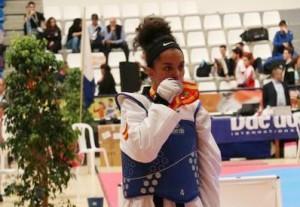 Die Gold-Rosi von La Palma: Punkte für Olympia bei den Spanish Open. Foto: www.fetaekwondo.es