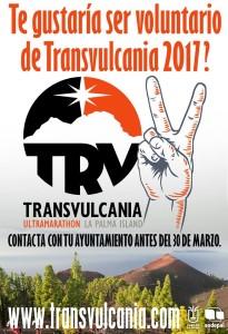 Transvulcania 2017: wieder Freiwillige gesucht.