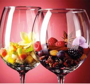 Neue Aromen kennenlernen: Weindegustation in der Hacienda de Abajo. Foto: Hotel