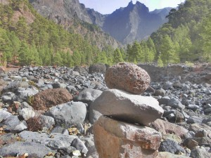 Caldera de Taburiente: In der trockenen Sommerzeit verstärkt die von der Kanarenregierung geführte Nationalparkverwaltung die Prävention. Foto: La Palma 24