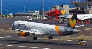 Condor: Der Ferienflieger bedient in Deutschland die Nord-Süd-Schiene. Foto: Carlos Díaz La Palma Spotting
