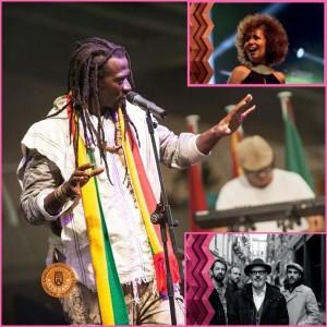 Konzerte auf dem Mercadillo in Puntagorda: Am 29. April spielen Leo Minax (unten rechts) und Baba Sall. Am 30. April gibt es Kuba-Musik mit Virginia Guantanamera (Foto oben).