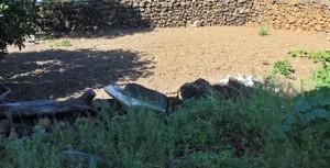 Brachliegende Gärten: sollen von sozial schwachen Familien bewirtschaftet werden. Foto: La Palma 24