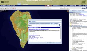 Grafcan-Infos zu den Flächennutzungsplänen: 14 Gemeinden und 17 Naturschutzgebiete auf La Palma sind aktuell erfasst.
