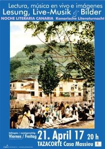 Hat Tradition: Die Literaturnacht in Tazacorte.