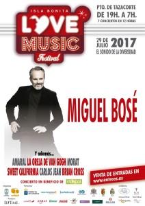 Miguel Bosé: Latino-Pop beim zwölfstündigen Konzertmarathon in Tazacorte.
