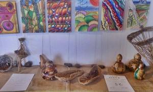 Pamela Alexander: Jedes Werk der Ausstellung in Las Tricias wird zum symbolischen Preis von fünf Euro für den guten Zweck verkauft.
