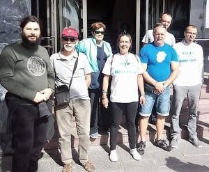 Arbeitslose auf La Palma: Haben sich in der Plataforma de Desempleados zusammengeschlossen und machen auf sich aufmerksam. Foto: Verband