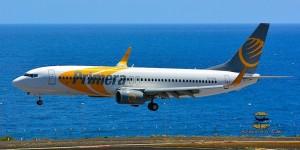 Kommen nächstes Jahr die Iren nach La Palma geflogen? Dank Subventionen aus dem Flugentwicklungsfonds landen im Winter 2016/17 erstmals wöchentlich Primera Air-Flieger aus Schweden und Dänemark auf der Isla Bonita. Foto: Carlos Díaz/La Palma Spotting