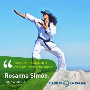 Talentiert und fotogen: Rosanna Simón.
