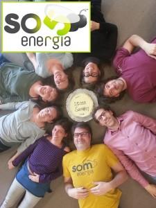 Som Energía: gemeinnützinge Kooperative für Ökostrom.