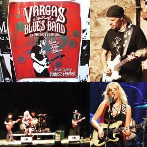 Latin-Blues: Javier Vargas und Band in Los Llanos.