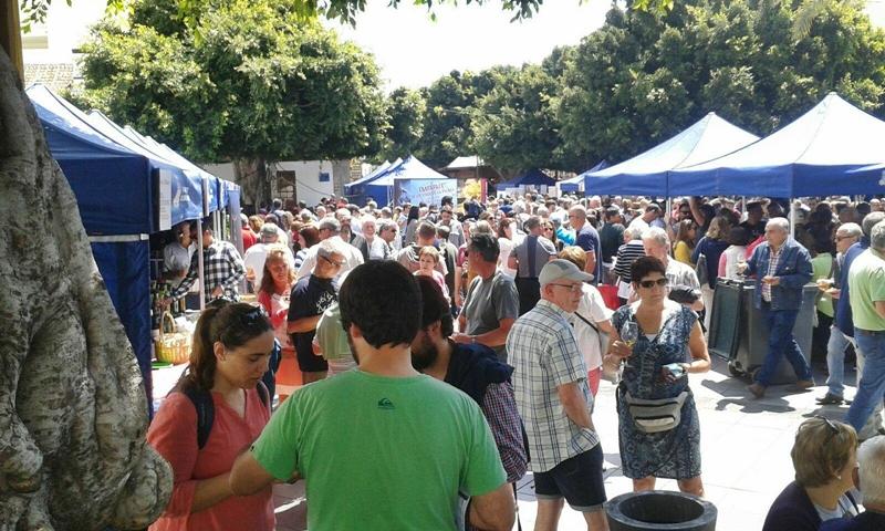 Weinmesse FIVIPAL in Los Llanos 2017: seit dem Start vor neun Jahren ständig mehr Besucher. Foto: Consejo Regulador
