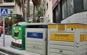 Gelbe Wertstoff-Container: La Palma sammelt nur halb soviel Plastik und Dosen wie der Rest Spaniens.