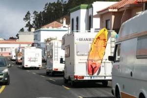 Vuelta a la Isla: vierte Wohnmobil-Tour als Werbeaktion für den Camper-Tourismus auf La Palma.