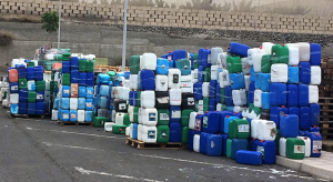 ASPROCAN-Abfälle: werden fachgerecht entsorgt. Foto: Verband