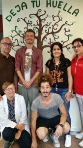 Gast-Studenten in Brena Alta: