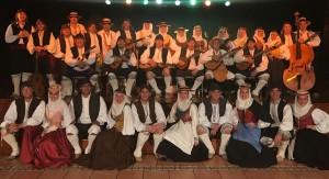 Die Agrupación Alfaguara aus La Palma: bestreitet zusammen mit Folklore-Kollegen von den anderen Inseln das Festival am Samstag. Foto: Gruppe