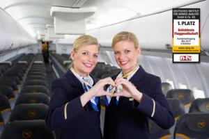 Die Crews danken den Passagieren: Condor wurde wieder