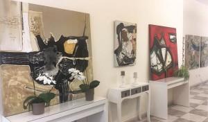 Lilith im Contacto: Gefühle machen ihre Gemälde so lebendig.