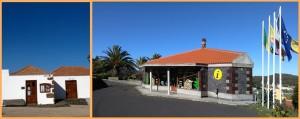 Die jüngsten der CIT-Tourismusbüros in Las Tricias und Llano Negro: sehr guter Einstand - Vertrag verlängert. Fotos: CIT Tedote