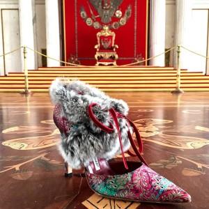 The Art of Shoes ist jetzt in der Eremitage in St. Petersburg zu sehen: Manolo Blahnik liebt die