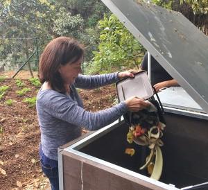 Puntallana-Pilotprojekt: 18 Familien kompostieren gemeinsam ihren Biomüll - demnächst auch in anderen Gemeinden. Foto: Cabildo