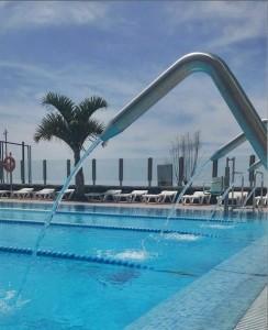Süßwasser als Alternative zum Atlantik: Das Freibad in Tazcorte ist wieder offen. Foto: Gemeinde
