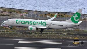 Transavia: weniger Stress an Bord. Foto: Carlos Díaz La Palma Spotting