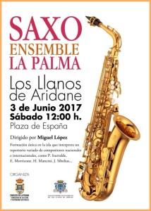 Saxo Ensemble La Palma: In Los Llanos.
