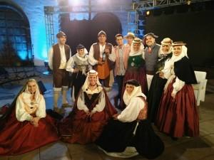 Folklore ist ein großer Bestandteil der Los Llanos-Fiesta: auch die Los Arrieros
