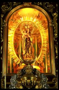Skulptur der Jungfrau der Heilmittel: zu besichtigen in der Kirche Los Remedios in Los Llanos. Foto: Fernando Rodríguez/Palmeros en el Mundo