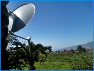 Verimax: eine ideale Technologie für alle, die abseits der Zentren von La Palma wohnen.
