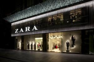 Eine der Zara-Filialen des Textil