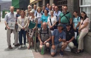 Starlight-Fans aus Deutschland und Österreich: La Palmas Tourismusrätin Alicia Vanoostende (