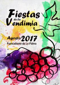 Weinlesefest in Fuencaliente am 17. August 2017.