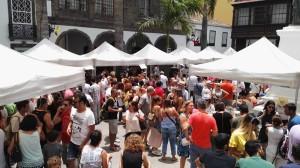 Feria de la Garimba: Das Bierfest in Santa Cruz läuft immer besser. Foto: Stadt