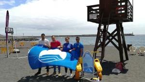 Brena Baja ist stolz: An der Playa Bajamar darf auch im Sommer 2017 wieder die Blaue Flagge auch