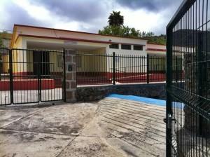 CEIP in El Paso: geschlossen, weil es nicht mehr genug Kinder in diesem Bereich gibt. Foto: Antonio