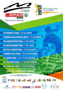 Trailrunner können sich schon jetzt orientieren: Der Kalender der Rennen um den Copa Spar pro NEP-Pokal ist da.