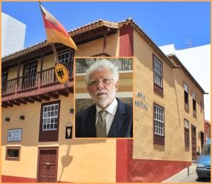 Das Honorarkonsulat in Santa Cruz de La Palma und